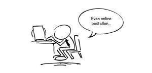 even on-line bestellen en afdrukken