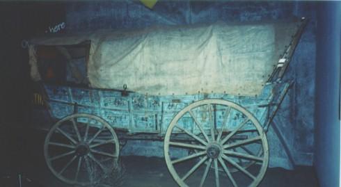 Ezra Meeker Wagon Display