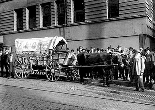 Ezra's wagon