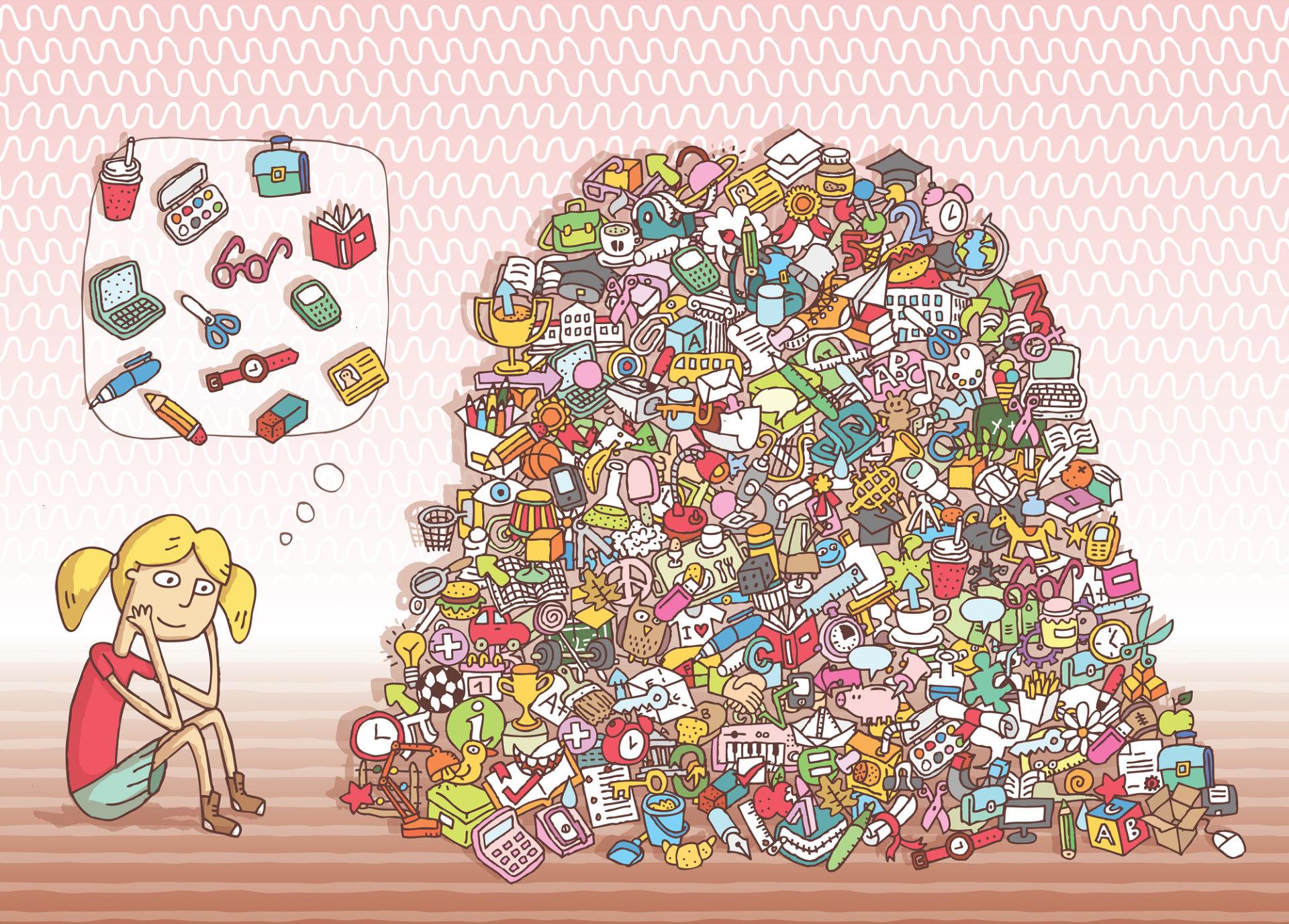 Hidden Objects Piles