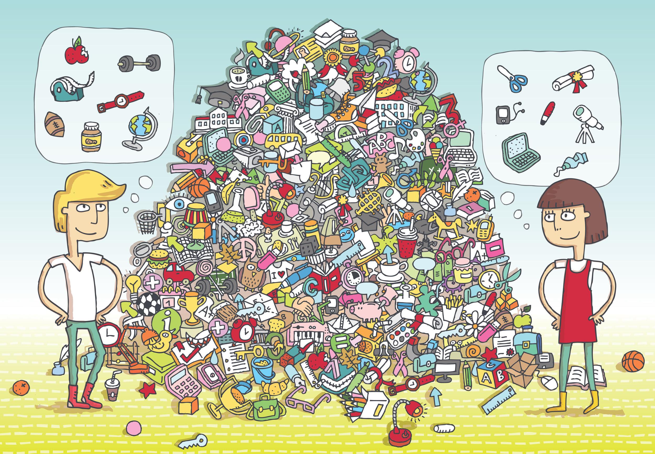 Hidden Objects Piles 2