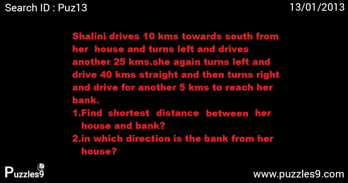 distance and directions problems | puz13