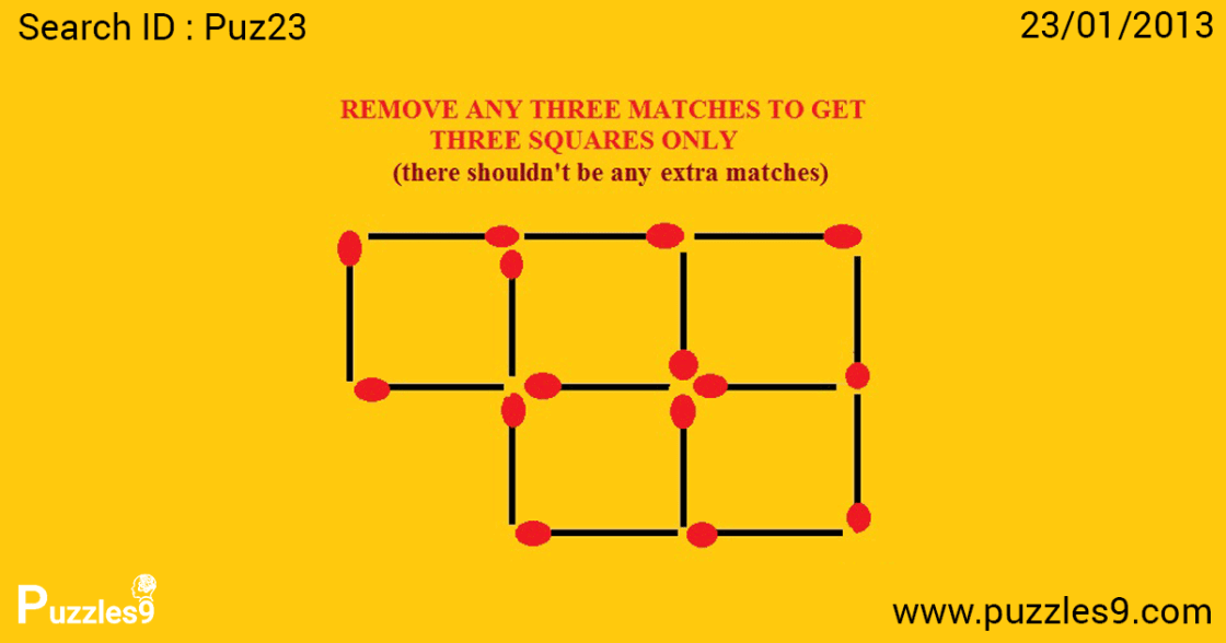 find the answer to this maths logic puzzle with matches | puz23