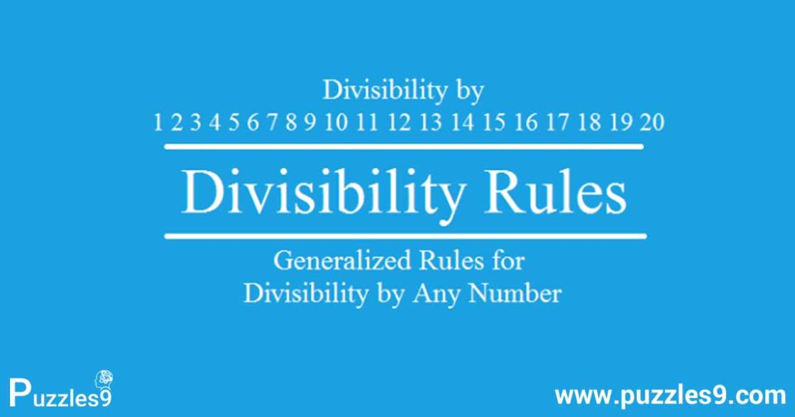 Math division rules for 1,2,3,4,5,6,7,8,9,10,11,12,13,14,15,16,17,18,19,20 - Puzzles9