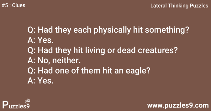 #5 Clues - Are they Mad : lateral thinking Exercise
