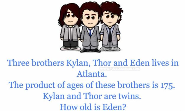 3 brothers twin age old eden