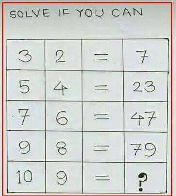 Fun math brainteaser