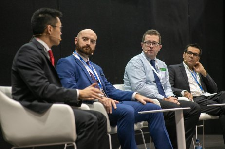 October 3, 2018, Melbourne, Australia - All Engergy trade fair.