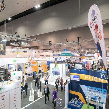 October 3, 2018, Melbourne, Australia - All Engergy trade fair.