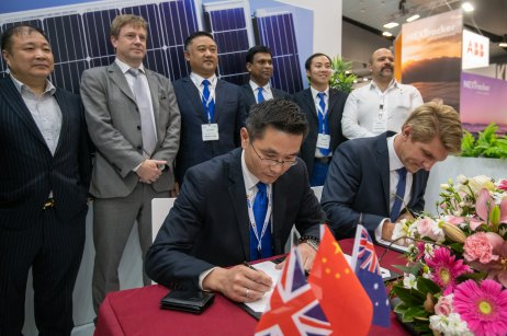 October 4, 2018, Melbourne, Australia - All Engergy trade fair.
