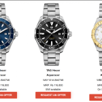 Tag Heuer Aquaracer Series – One for the Deeper Ends