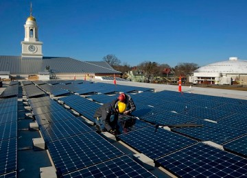 More Americans are installing rooftop solar and buying less electricity from their utilities