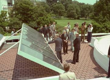 The saga of the White House solar panels—A solar story