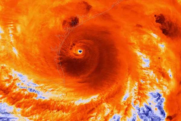 infrared-satellite-image-of-Hurricane-Harvey