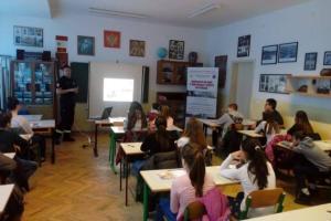 """Održano prvo u nizu predavanje kroz projekat """"Edukacija mladih o prevenciji i zaštiti od požara"""""""