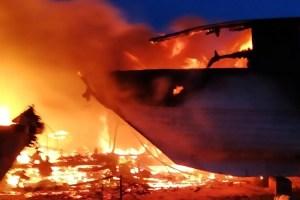 Marina u Baru: U velikom požaru izgorjelo nekoliko brodova