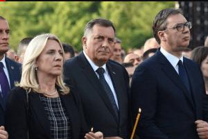 VUČIĆ U KRUŠEDOLU – Sa nama predstavnici Srba iz CG, zvanična PG u Kninu