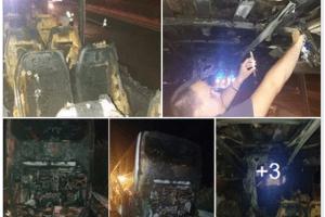 ZAPALIO SE AUTOBUS PUN SRPSKIH TURISTA U GRČKOJ Svih 47 putnika evakuisano, izvukli živu glavu zahvaljujući brzoj reakciji vozača