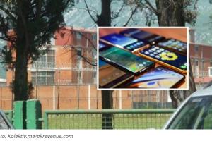 PRETRES na prijavnici zatvora u Spužu: U klima uređaju pronađeno 17 MOBILNIH TELEFONA