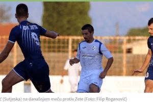 Teško je bilo da se diše, a ne igra fudbal: Remi bez golova i šansi Zete i Sutjeske