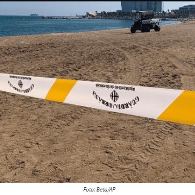 Evakuisana plaža u Barseloni zbog stare bombe u moru