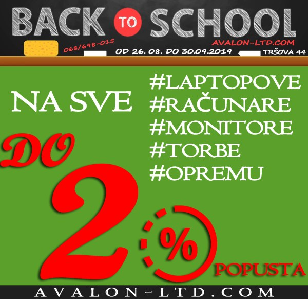 Avalon Back To School