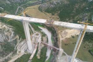 """Najzahtjevniji OBJEKAT na AUTO-PUTU: Most """"Moračica"""" skoro ZAVRŠEN!"""