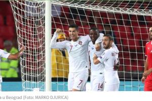 Tumbaković krenuo porazom: Ronaldo i Portugalci osvojili Beograd