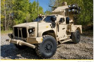 Vojska Crne Gore nabavlja oklopna vozila američkog Oškoša