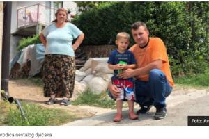 Roditeljima je najteže: Dječak Ibrahim, koji je pao u nabujali potok prije četiri mjeseca, još uvijek nije pronađen