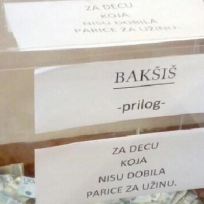 Pekarka prikuplja novac kako bi dala đacima koji nemaju za užinu