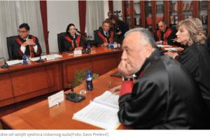 ZA IZBOR POTREBNA DVOTREĆINSKA VEĆINA –  I pred Ustavnim sudom v.d. stanje