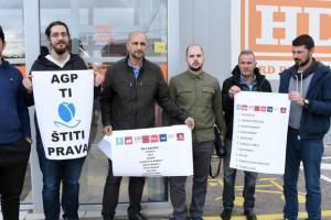 """Vlasnik """"Lakovića"""" obećao da će izaći u susret, aktivisti AGP-a najavili da kreću u borbu za sve zaposlene"""