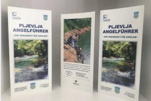 Brošure o ribolovnom turizmu na njemačkom jeziku spremne za sajam turizma u Stutgartu