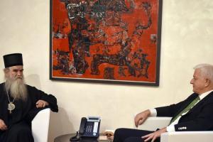 MCP: Je li se Amfilohije stavio na čelo Vlade kad se sastao s Markovićem…?