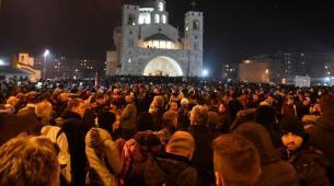 Mitrović: Litije nisu za nacionalne koreografije, skandiranje i navijanje