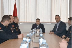 Veljović: Naša je obaveza da čuvamo građane ali i zašititimo pripadnike službe