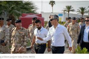 ZBOG BEZBJEDNOSNE SITUACIJE NA TERENU VCG do daljeg neće u Irak?