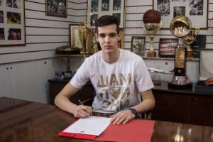 Anđušić potpisao profesionalni ugovor sa Zvezdom