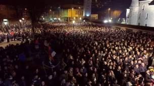 Večeras održana 24. pljevaljska litija