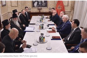 Završen sastanak Vlade i Mitropolije, najavljeno zajedničko saopštenje