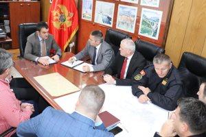 Direktor Uprave policije Veselin Veljović boravio u radnoj posjeti Opštini Pljevlja