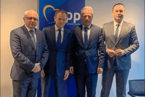 Delegacija BS zvanično u Briselu sa novoizabranim predsjednikom EPP Donaldom Tuskom