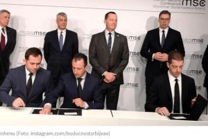 Srbija i Kosovo potpisali sporazume o željezničkoj vezi i auto-putu Beograd-Priština