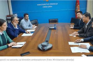 Ministarstvo: Zdravstvene vlasti i ambasada Kine uspješno sarađuju u cilju prevencije koronavirusa