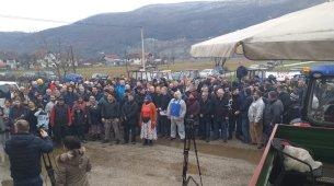 Danas je u Bijelom Polju održan protestni skup mještana Potkrajaca, Strojtanice i Rasova