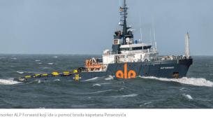 Pomorski podvig kapetana iz Crne Gore i njegove posade u sjevernom dijelu Atlantika