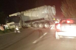 Cistijerna sletjela sa magistralnog puta Bijelo Polje-Mojkovac, vozač teže povrijeđen