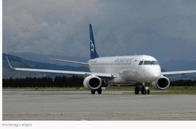 Zabranjeno slijetanje aviona Montenegro erlajnsa na beogradski aerodrom