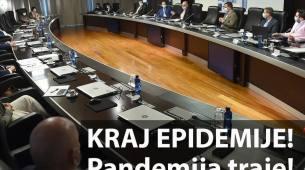 Kraj epidemije koronavirusa u CG: Pandemija traje, mjere protiv importacije ostaju